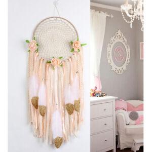 DIY-Handmade-Boho-Dream-Catcher-Kit-Craft-Ornament-for-Wedding-Wall-Hanging-Deco