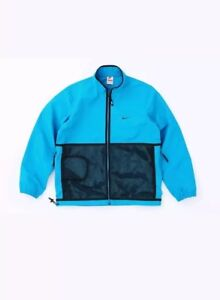 94053066a5a Nike Nikelab Supreme X Trail Running Jacket Blue 3M Size Small ...