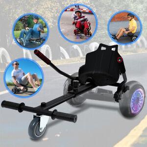 Hoverboard Scooter Hoverkart Hoverseat kart Balance Sitzscooter Schwarz Sitz