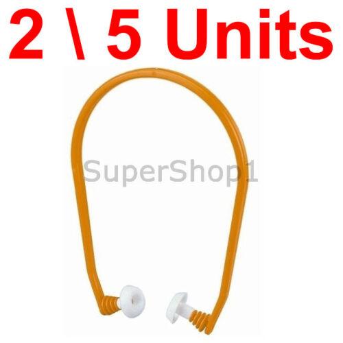 Set of 2 \ 5 U-Band Banded Ear Plug 26dB Hearing Protector Shooting Range NRR