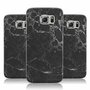 DYEFOR-FAUX-MARBLE-EFFECT-BLACK-CASE-COVER-FOR-SAMSUNG-GALAXY-MOBILE-PHONES