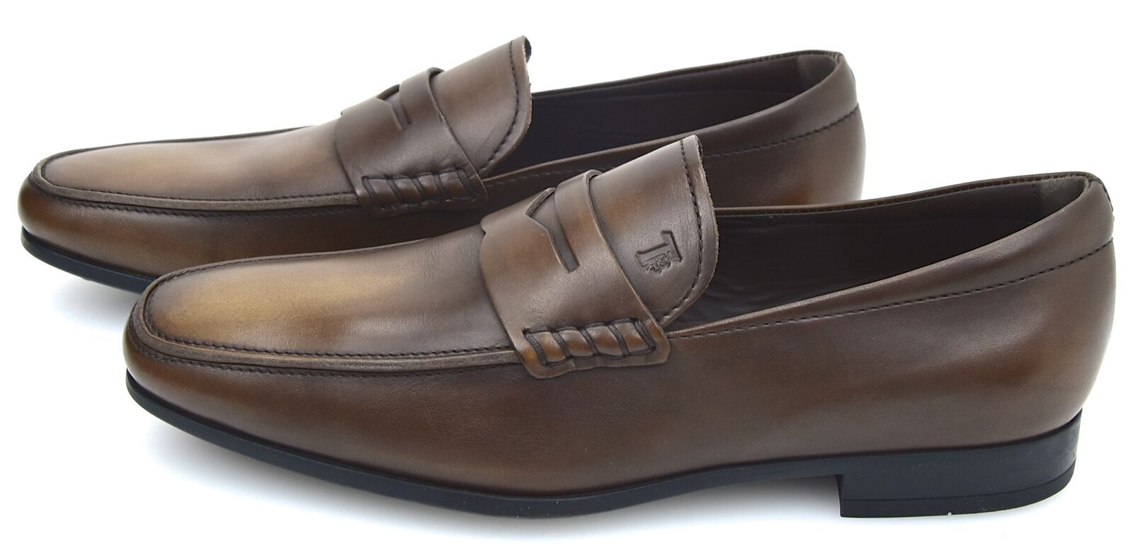 TOD'S MAN BUSINESS CLASSIC LOAFERS FORMAL DRESS chaussures LEATHER XXM0QO00010SADS800