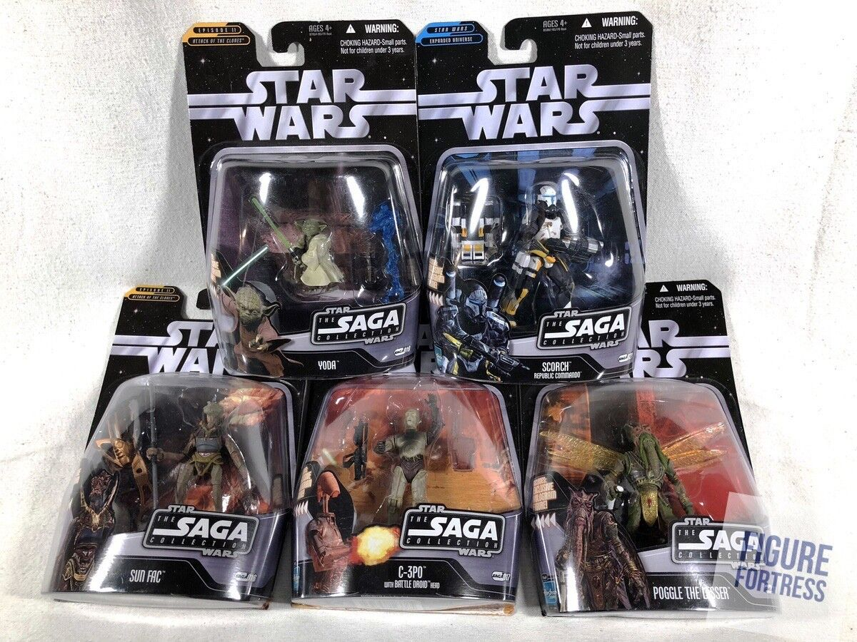Star Wars The Saga Collection & 021 BATTLE OF GEONOSIS