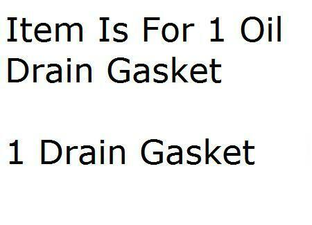 Engine Oil Drain Plug Gasket Dorman 65274