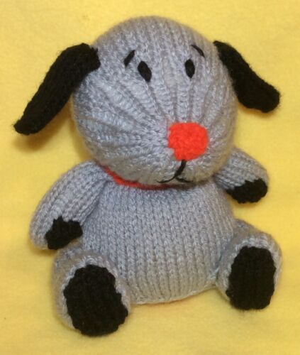 KNITTING PATTERN Sweep inspired chocolate orange cover or 14 cms Sooty toy