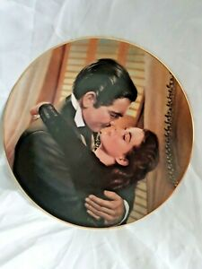 Wating For Rhett,Gone With The Wind Collector Plate,Paul Jennis,Scarlett 1991,Bradford Exchange,Decorative Plate,Collectors