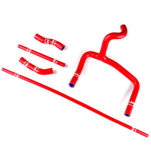 Silicone Radiator Hose Kit for Honda CR250R CR 250 2000 2001 Red Coolant Pipe