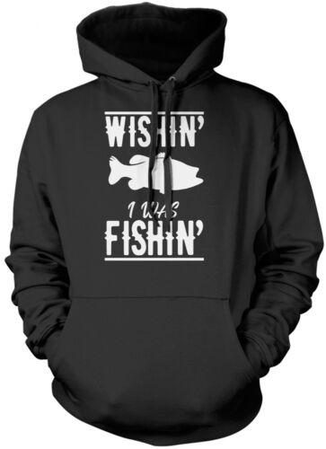 """Che /'stavo campeggiando/"""" Pesca Pescatore Carpa Regalo Felpa con Cappuccio Unisex"""