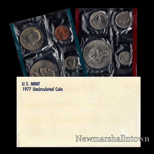 1977 P+D U S Mint Set Eisenhower Kennedy Washington Roosevelt Jefferson Lincoln