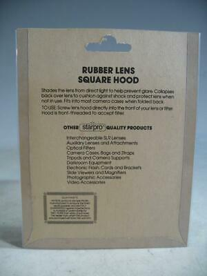 Starpro 49MM Square Rubber Lens Hood In Original Packaging #17