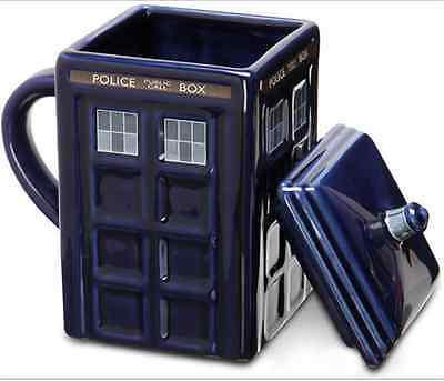 Doctor Who 17oz Tardis Mug Ceramic Mug Police Box Cup Travel Mug Coffee Tea Cup