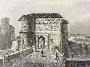 Door-of-German-in-Metz-First-half-Xixth-Moselle