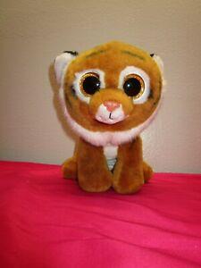 "Ty Beanie Boos TIGGS Tiger Sparkle Eyes Medium 9""Plush"