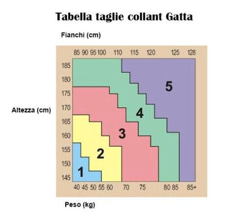 COLLANT EFFETTO CALZE CON REGGICALZE GIRL-UP 01 GATTA GatGirlUp01