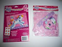 My Little Pony Happy Birthday Party Banner & Game Pin The Tail Similar Game