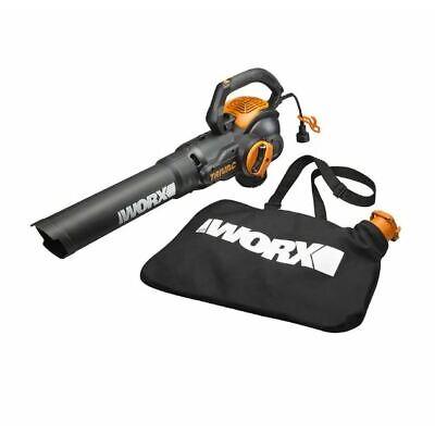WORX WG512 TriVAC 12 Amp Electric 3-in-1 Blower/Mulcher/Yard Vacuum