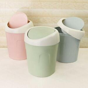 Image Is Loading Mini Small Waste Bin Desktop Garbage Basket Table