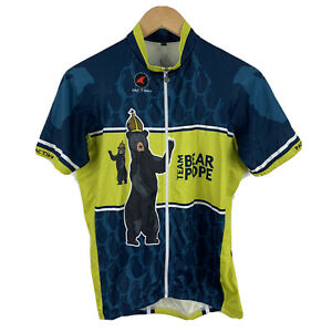 Pactimo-Cycling-Jersey-Mens-Size-Medium-Slim-Fit-Short-Sleeve-Full-Zip