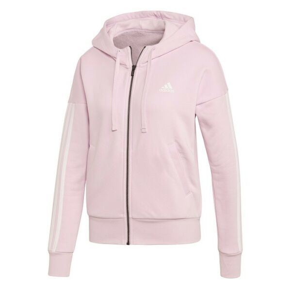 adidas ESS 3 Stripes Fullzip Hoodie Pullover Sweatshirt Damen, Frauen CF8873 /J4