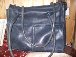 Vintage Noir Arcus go Cuir Besace L Belle Plein PqFS5qw