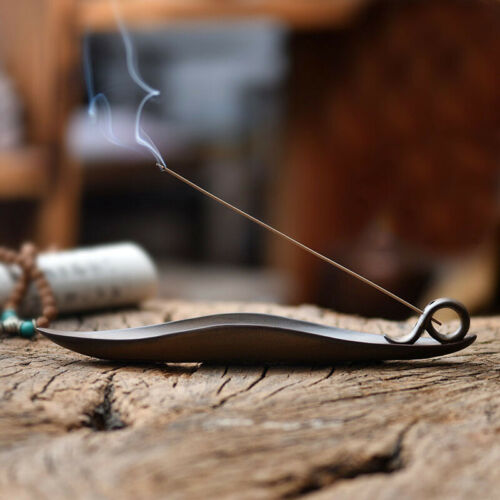 1 X Incense Stick Holder Insence Box Insense Burner Ash Catcher Furnaces Decor