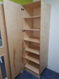 Details about Standard Bespoke Birch Plywood Kitchen Cabinet Tall Unit  Carcass + Door Cutting