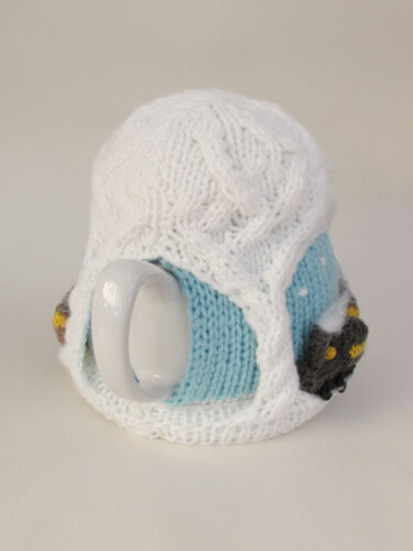 Christmas Steam Train Tea Cosy Knitting Pattern to knit your own Locomotive cosy