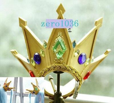 No Game No Life Shiro Anime Limited Crown Cosplay Prop headwear