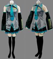 Hot Sale!Vocaloid Miku Hatsune Cosplay Costume 10PCS Full Set