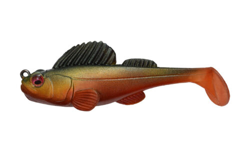 Megabass Dark Sleeper Soft Body Swimbait Deep Running Paddle Tail Swimbait