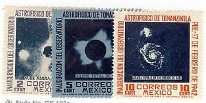 Mexico,Scott#774-776, MH