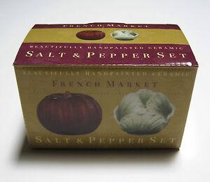 Salt-amp-Pepper-Shakers-French-Market-Handpainted-Ceramic-Cabbage-amp ...