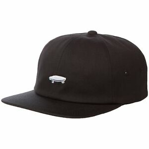 f9a652ac7a8 VANS off The Wall Salton 2 Hat Black Strapback Unstructured 100 Cotton