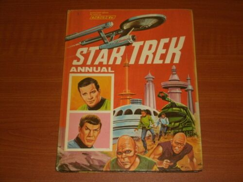 World DIST. Enterprise ossa Kirk SULU VINTAGE Star Trek UK piante annue Spock