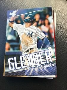 Details About 2019 Topps Series 1 Gleyber Torres Gt 28 Target Exclusive Only Insert Yankees