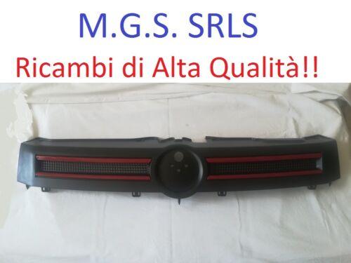 con Profilo Rosso 2003//2012 Griglia Maschera Mascherina FIAT PANDA e 4X4