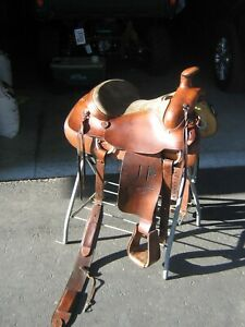 16 INCH ROPING SADDLE BY WALCO