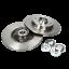 Indexbild 7 - Brembo | 2 Bremsscheiben Voll 249 mm + Bremsbeläge Hinten für PEUGEOT|CITROEN