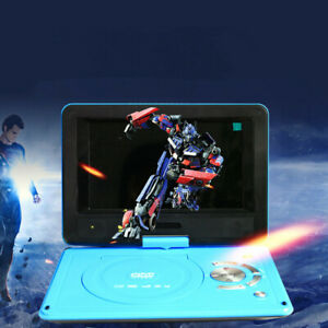 Us Uk Eu Au 9 8 Portable Dvd Player Hd Cd Player Usb Sd Card Reader Black Ebay