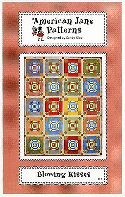 BLOWING KISSES BY QUILT QUILTING PATTERN, From American Jane Patterns NEW