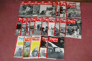 24-Issues-Trains-Magazines-1951-1953