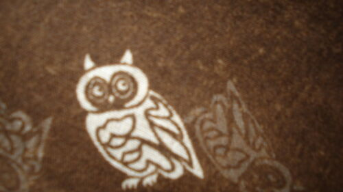 Soft and Long Owl Print Scarf