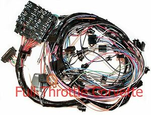 image is loading 1976-corvette-dash-wiring-harness-for-vettes-with-