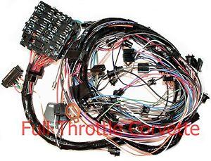 1976 corvette dash wiring harness for vettes with automatic rh ebay com 1975 Corvette 1975 Corvette