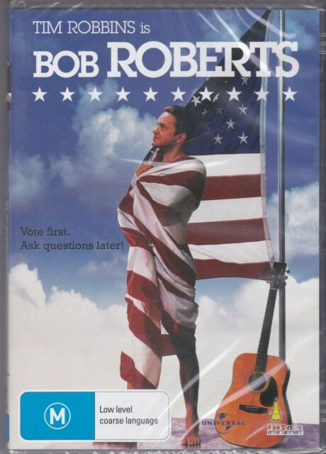 BOB ROBERTS - Tim Robbins, Giancarlo Esposito, Alan Rickman - DVD