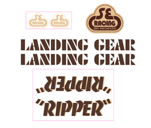 Ripper Decal  set - brown w tan shadow  wholesale store