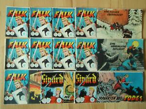 Falk-Sigurd-Konvolut-11-Piccolo-Comichefte-ORIGINAL-ERSTAUFLAGE-Lehning