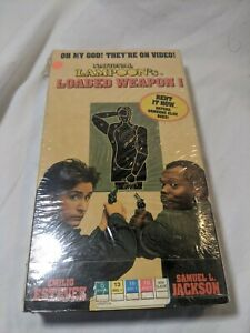 National-Lampoon-039-s-Loaded-Weapon-1-VHS-Tape