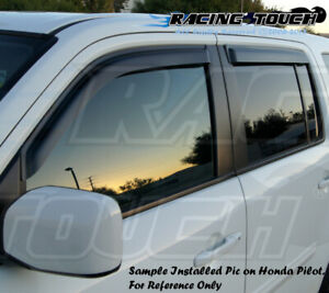 5pcs 2mm Outside Mount Visor Rain Guards Sunroof Suzuki Grand Vitara 2006-2011