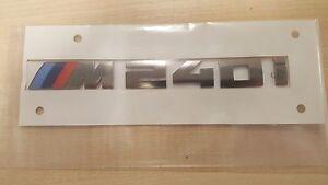 X6M Rear Trunk Boot Lid Emblem Lettering X6M M performance Badge